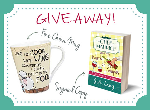 Chef Maurice Book 2 Giveaway